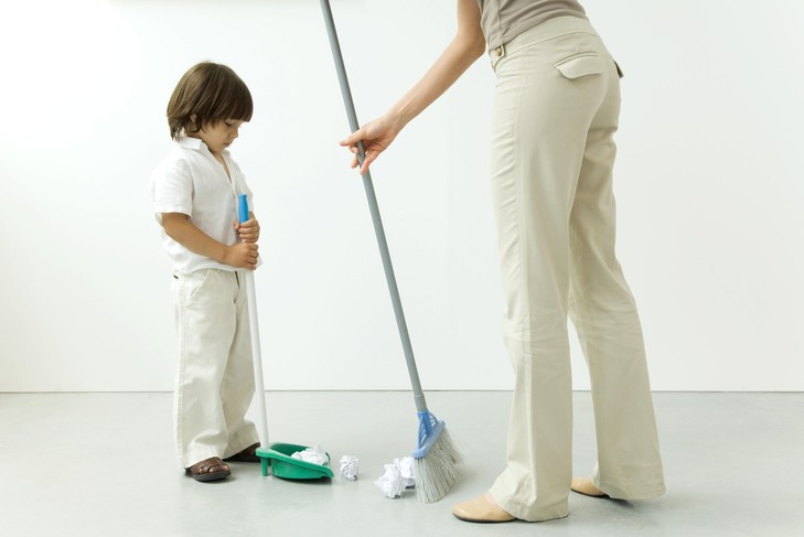 Tâches ménagères : nos petits français pas très concernés