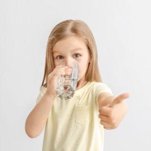 Boire de l'eau rend plus fort !
