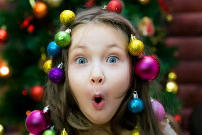 4 , le chiffre d'or pour le nombre de cadeaux de Noël